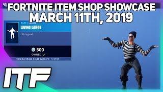 Fortnite Item Shop LIVING LARGE EMOTE IS BACK! [March 11th, 2019] (Fortnite Battle Royale)