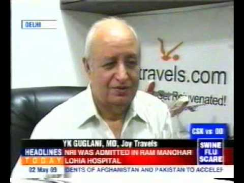 Joy Travels Trip to India Package Tours Travel Agency YouTube Pitch Preview