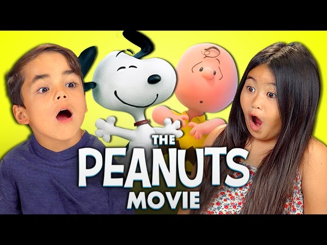 Welcome to listen to the song kids react to the peanuts movie snoopy