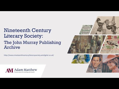 Nineteenth Century Literary Society - New for 2020