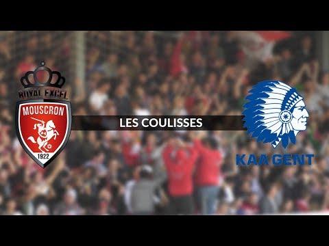 Royal Excel Mouscron -  La Gantoise : les coulisses du match (видео)