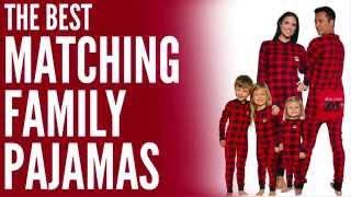 Matching Family Pajamas - Perfect for Family Christmas Pajamas!
