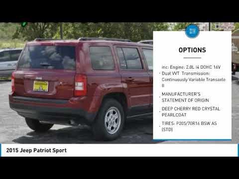 2015 Jeep Patriot Austin 591866A
