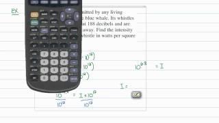 Intermediate Algebra - Logarithms: Logarithmic Functions