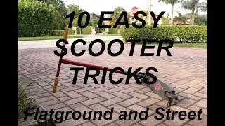 10 EASY SCOOTER TRICKS