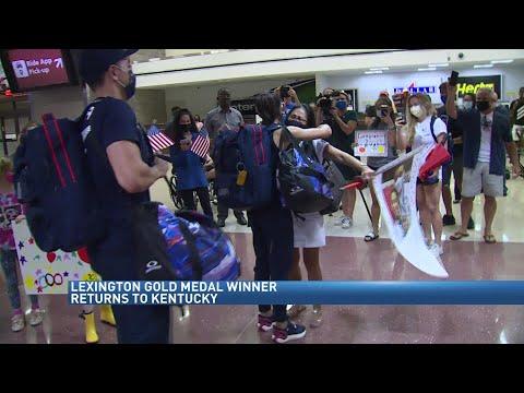 Lee Kiefer returns to KY after gold medal performance in Tokyo