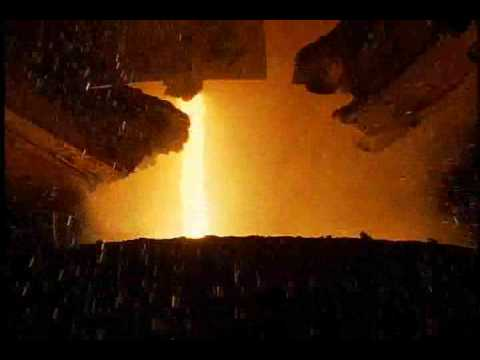 steel - A narrated description of the steelmaking process.