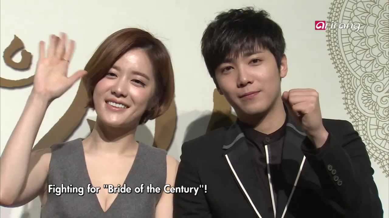 "[engsub] 40305 Showbiz Korea: The press conference scene of the drama ""Bride of the Century"""