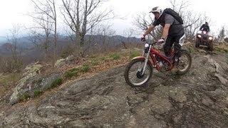 7. Gas Gas 280 TXT On Steep Mountain Trails