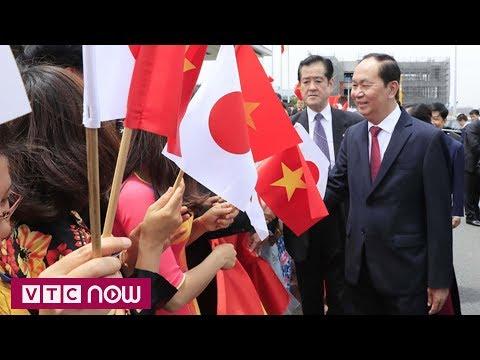 Chủ tịch nước Trần Đại Quang thăm Nhật Bản | VTC1 - Thời lượng: 74 giây.