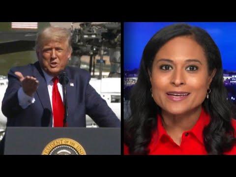 President Trump Criticizes NBC Debate Moderator Kristen Welker