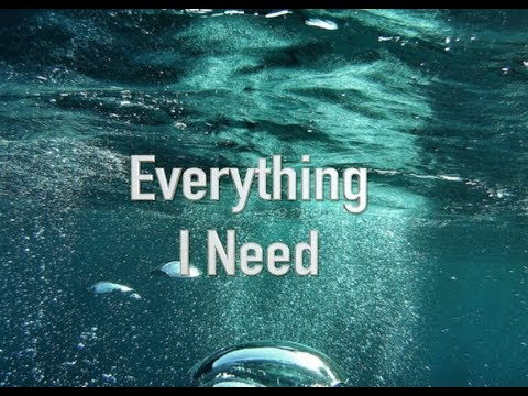 "KARAOKE (PIANO) ""Everything I Need"" - Skylar Grey (AQUAMAN)"