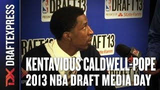 Kentavious Caldwell-Pope - 2013 NBA Draft Media Day Interview