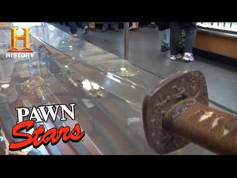 Pawn Stars: SHOP DOUBLES MONEY on Samurai Sword (Season 8)   History
