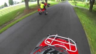 7. Honda TRX450R Wheelie