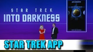 Star Trek Into Darkness - Alice Eve Reveals Star Trek App