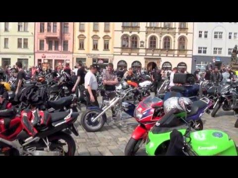 Motorkáři Olomouc - Odemykání silnic 23.4.2011