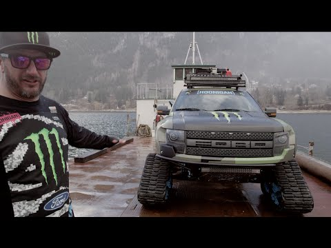 energy - Monster Energy athlete Ken Block takes you for a personal walk-around of his Ford F-150 RaptorTRAX and explains just what makes it the coolest backcountry snowcat ever.