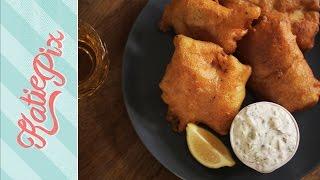 Speedy Beer Battered Fish Recipe | Katie Pix by Katie Pix
