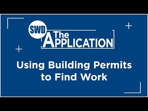 The Application: Using Building Permits to Find Work w/Marcus DeVere