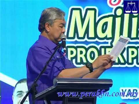 Penerima B1RM Dihina, Diumpama Seperti Itik , Ayam  DSD Dr Ahmad Zahid Hamidi