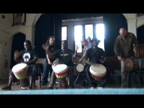 Grand Master of Djembe Mamady Keita in Australia 2008