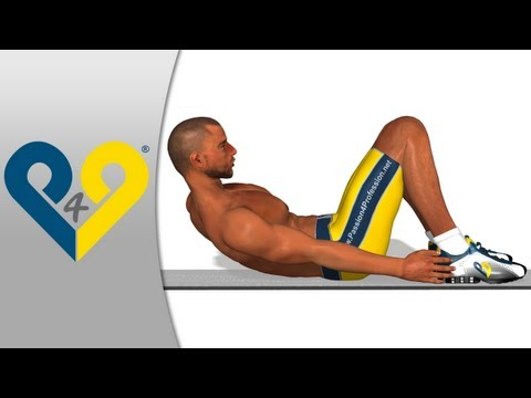 p4p_en - Abdominal oblique exercice - ab workout: Foot to Foot crunch ( oblique crunches ). Foot to foot crunch is one of the best exercises for training oblique abdo...