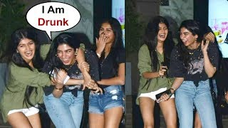 Video Khushi Kapoor Drunk Masti With Friends Outside Hakkasan MP3, 3GP, MP4, WEBM, AVI, FLV Maret 2019