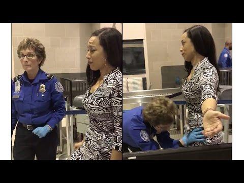 """لماذا بكت معلِّقة سياسية بـ""""سي إن إن"""" أثناء تفتيشها بأحد المطارات.. ستجد الإجابة في هذا الفيديو"""