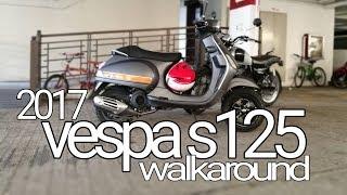 9. SDM#60 : 2017 Vespa s125 Walkaround