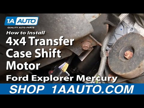 How To Install Replace 4×4 Transfer Case Shift Motor Ford Explorer Mercury Mountaineer 95-01 1AAuto