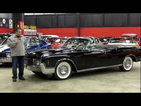 1966 Lincoln Continental Convertible Suicide Doors Entourage Classic Car for Sale in MI Vanguard