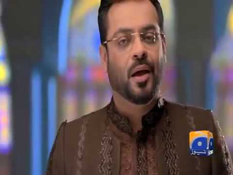 Video Pak Ramazan New Promo by Aamir Liaquat Hussain On GEO TV 2016 download in MP3, 3GP, MP4, WEBM, AVI, FLV January 2017