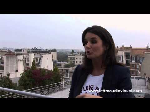 Interview de Faustine Bollaert, par Sandra Muller, La Lettre de l'audiovisuel, 23/10/12