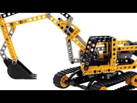 Video YouTube analysis of the Technic Excavator