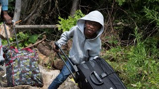 The surge of Haitian asylum seekers walking across the border from New York state to Quebec continues unabated and Canadian officials are preparing to ...