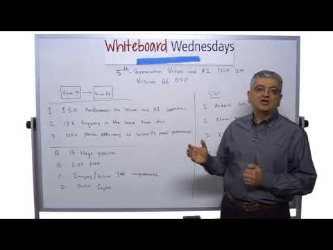 Whiteboard Wednesdays - New Tensilica® Vision Q6 DSP for Vision and AI Processing