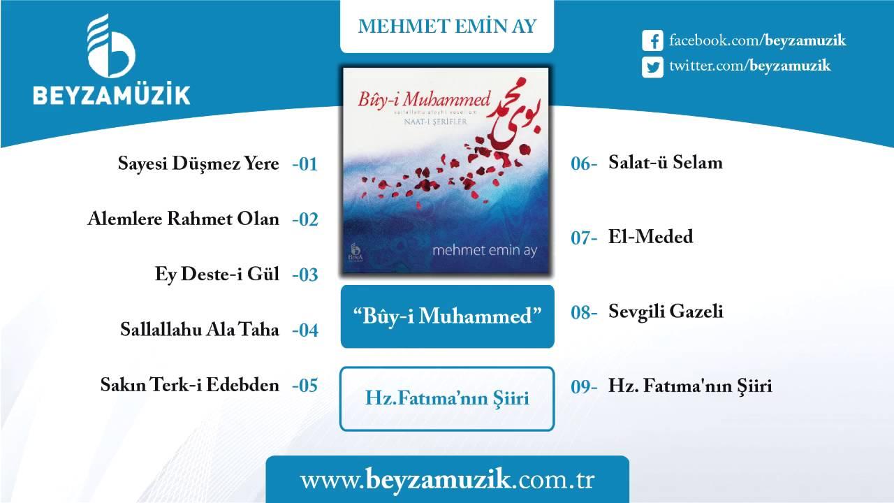 Mehmet Emin Ay – Hz. Fatıma'nın Şiiri Sözleri