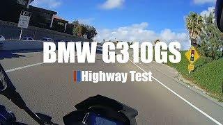10. BMW G310GS Highway Test