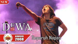 MANA SUARANYA !!! DEWA 19 - SEPARUH NAFAS (LIVE KONSER PEKANBARU 2008)