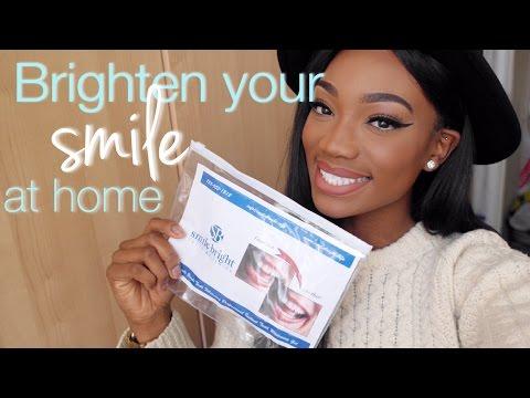 SMILE BRIGHT | At Home Teeth WHITENING KIT