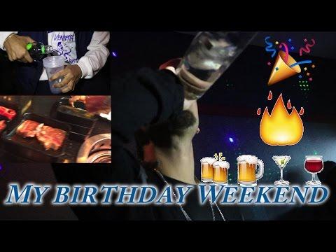 TURNT BIRTHDAY WEEKEND VLOG!!! (видео)