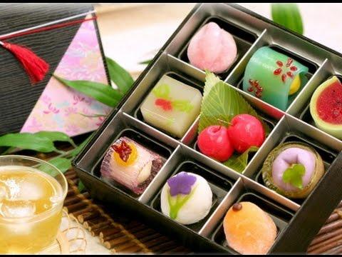 Japonské cukroví wagaši