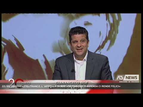 22/01/2020 | CASTELFRANCO, L' 'APPELLO' DI BOF: «SE MARCON CI RIPENSA CI RENDE FELICI»