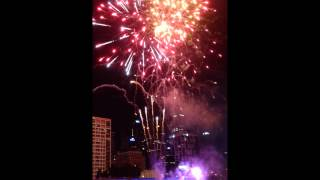 FIREWORKS CROWN CASINO MELBOURNE CHINESE NEW YEAR 2014 PT2