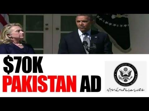 Obama and Clinton Condemn Anti-Islam Film in Pakistan Ad