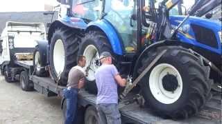 New Holland powerstar t 4.55 & t 6050 plus nowy nabytek wiosna 2012
