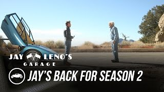 Jay's Back for Season 2 on CNBC - Jay Leno's Garage by Jay Leno's Garage