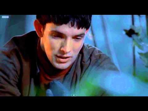 Merlin reveals his secret to Arthur [REAL]