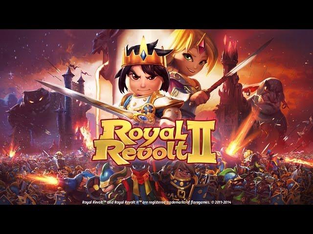 Official Royal Revolt 2 Launch Trailer